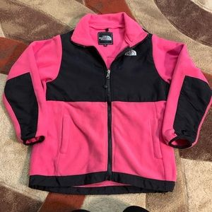 Kids Northface zip up sweater.